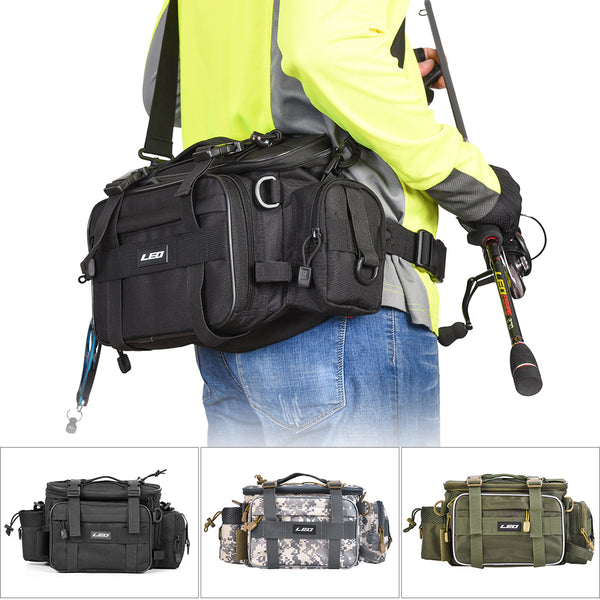 Multifunctional Fishing Tackle Waist Pack Bag