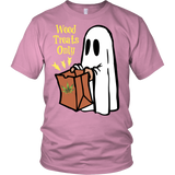 Weed Treats Only Ghost Shirt v3