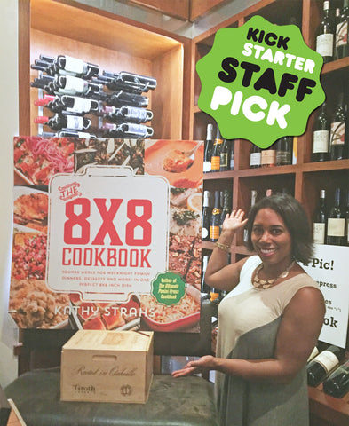 The 8x8 Cookbook was named a Kickstarter Staff Pick!
