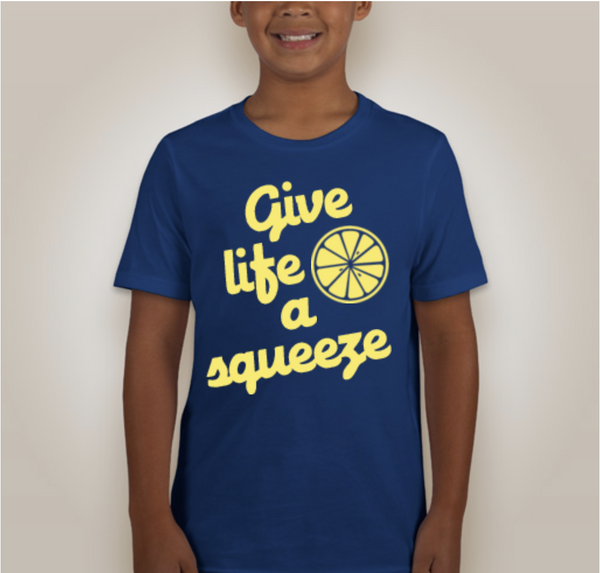 """Give Life a Squeeze"" Graphic Tee"