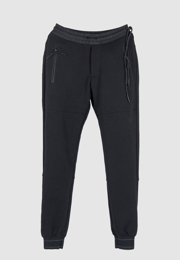 HO18-0006-A - Technical Sweat Pant in Black
