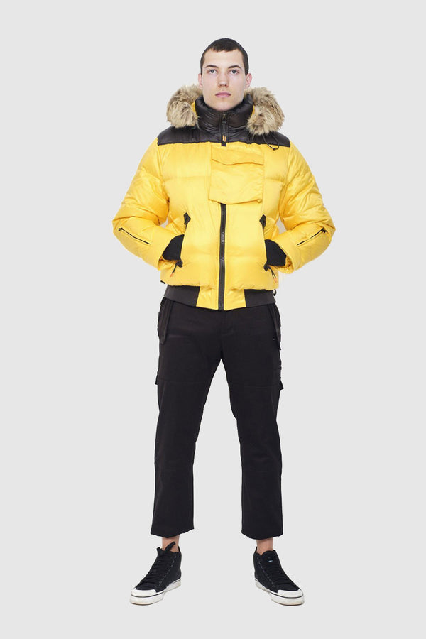Yellow Heavy Weight Puffer