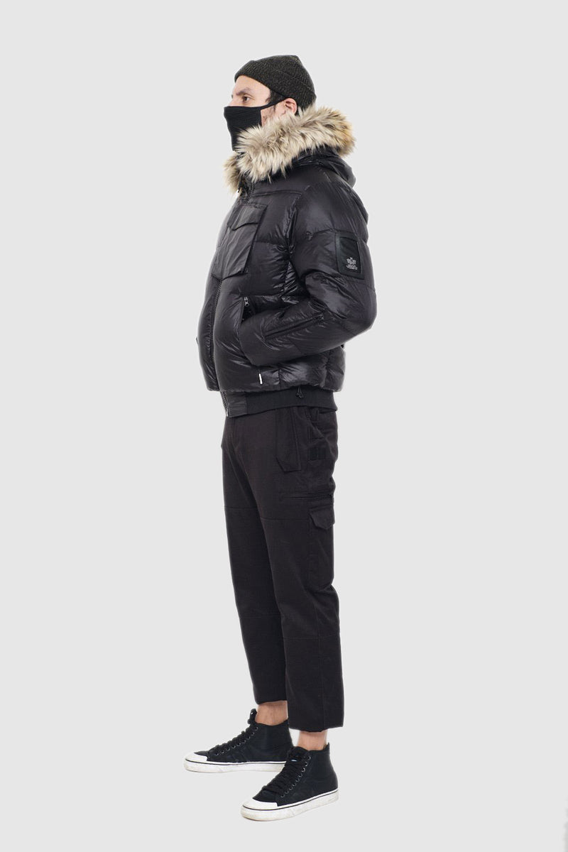 Black Heavy Weight Puffer