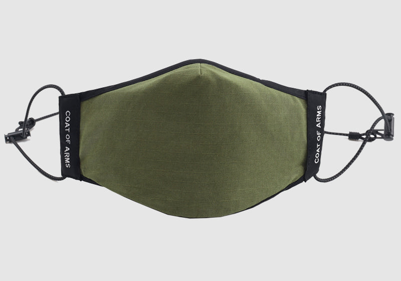 Cotton Ripstop Face Mask with PM2.5 Filter