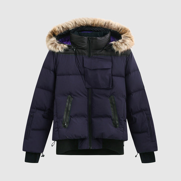 Navy Heavy Weight Puffer