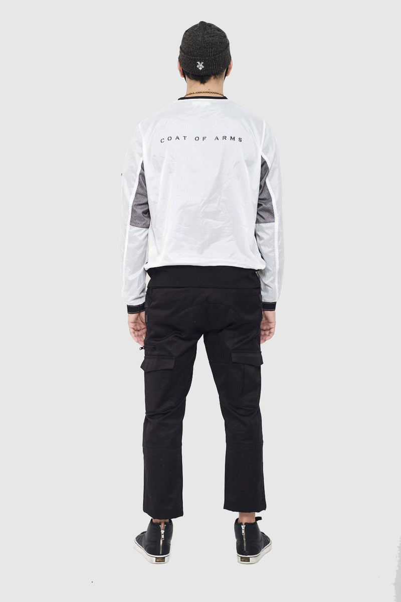 Technical Ripstop Crewneck