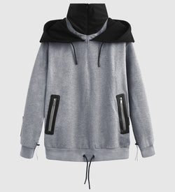 Turtleneck Quarter Zip Hoody