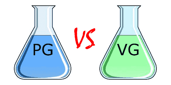 Difference between PG and VG in your Vape Juice
