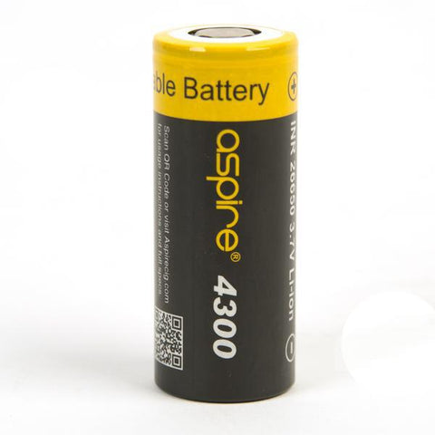 aspire 26650 batteries available at theravape Winnipeg, Manitoba, Canada