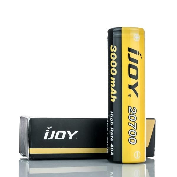 iJoy  20700 - 40A 3000mAh - 20700 Battery - Flat Top