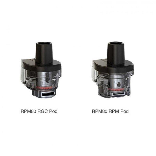 smok rpm80 rpm & rgc replacement pods available at theravape winnipeg manitoba canada