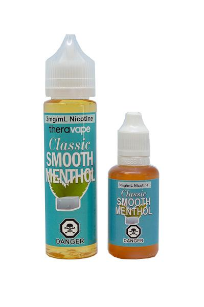 theravape classic smooth menthol eliquid canada