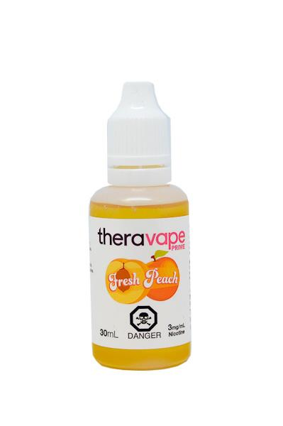 theravape prime fresh peach ejuice winnipeg manitoba canada