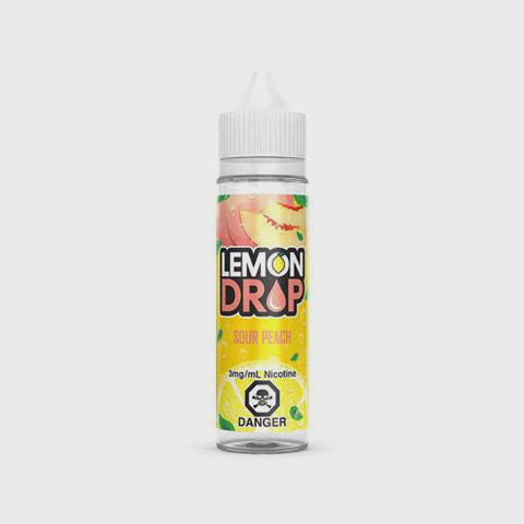 lemon drop - sour peach available at theravape winnipeg manitoba canada