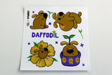 Daffodil Sticker Sheet