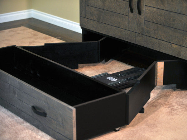 Metro Cabinet Bed - drawer open