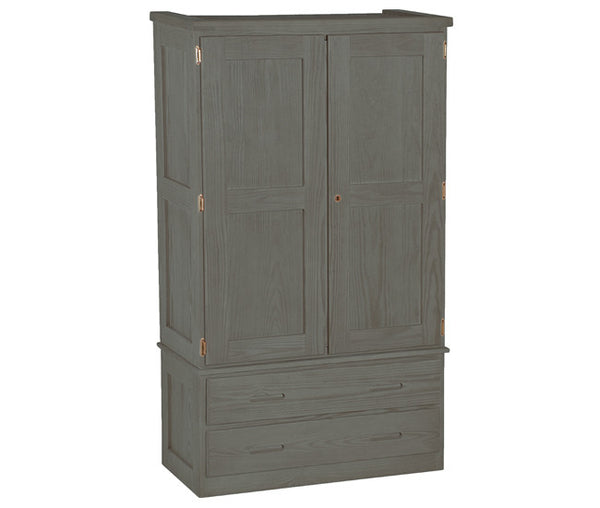 Crate Armoire by Crate Designs - Graphite finish