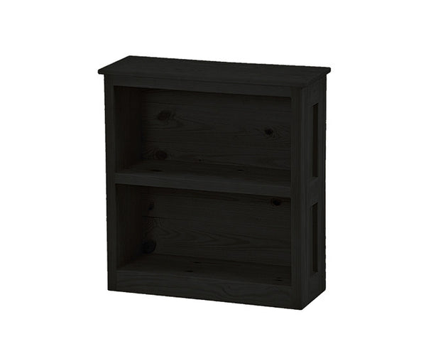 Narrow Bookcase by Crate Design - 8014 in Espresso