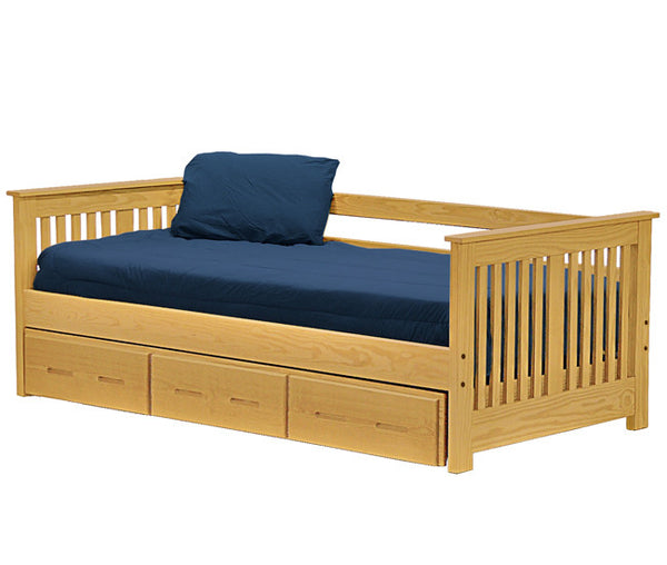 Day Bed w/Trundle by Crate Design - Classic finish