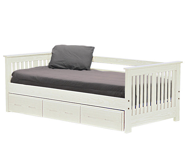 Day Bed w/Trundle by Crate Design - Cloud finish