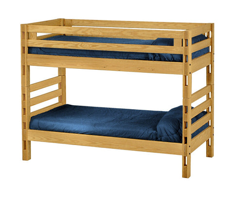 Ladder End Bunk Bed by Crate Design - Classic