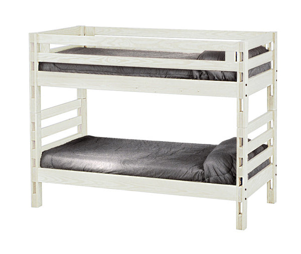 Ladder End Bunk Bed by Crate Design -Cloud