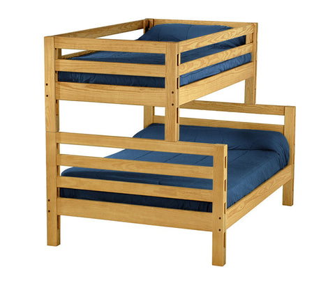 Ladder End Combo Bunk Bed by Crate Design - Classic