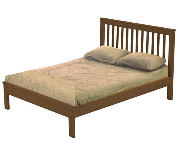 Mission Bed from Crate Design - Brindle