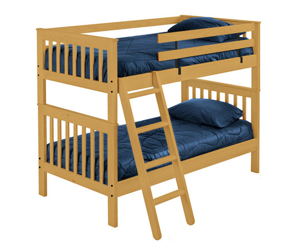 Mission Style Bunk Bed by Crate Design - Classic
