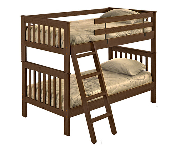 Mission Style Bunk Bed by Crate Design - Brindle