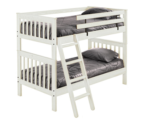 Mission Style Bunk Bed by Crate Design - Cloud