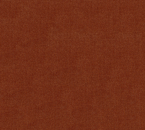 Warm Rust coloured fabric