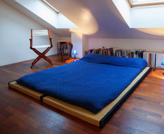 Traditional Tatami Mat East West Futons