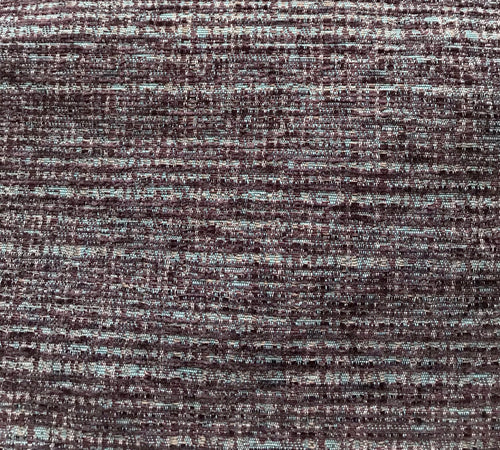 Berry and soft blue textured fabric