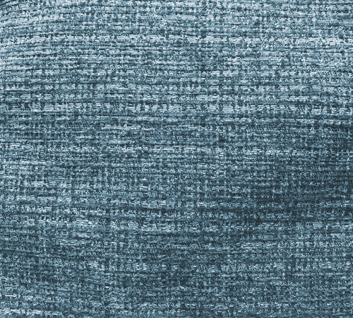 Placid blue textured fabric
