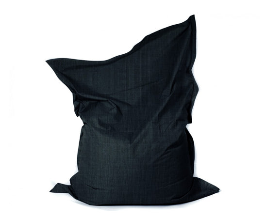 Extra large bean bag in black
