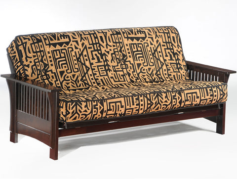 mattress with wood wooden of futon eden comparing house frame