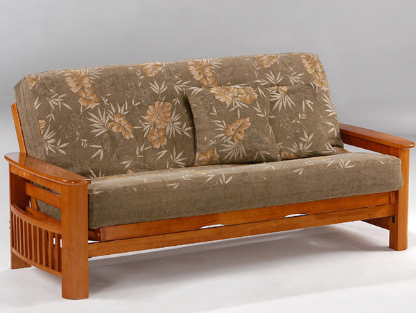 Portofino Futon Frame -Honey Oak