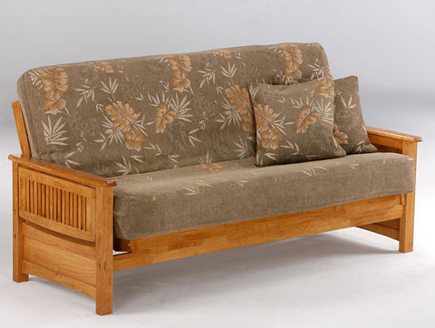 Sunrise Futon Frame -Medium Oak