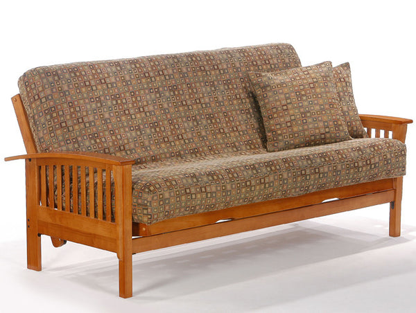 Winchester Futon Frame - Honey Oak