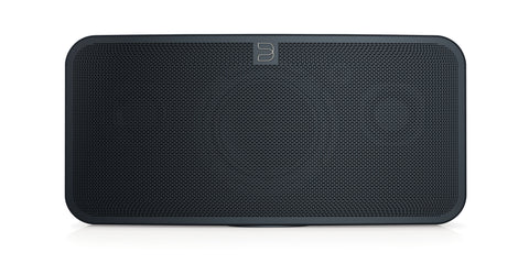 Black Bluesound speaker