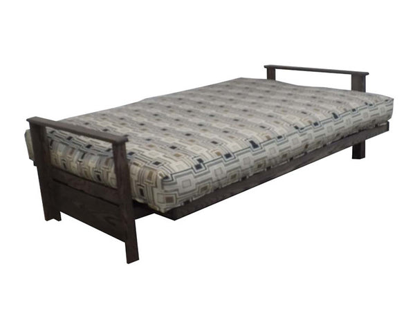 Sherbrooke Oak Futon Frame in bed position