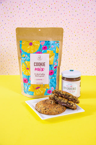 Contents of the Brigadeiro Cookie Making Kit