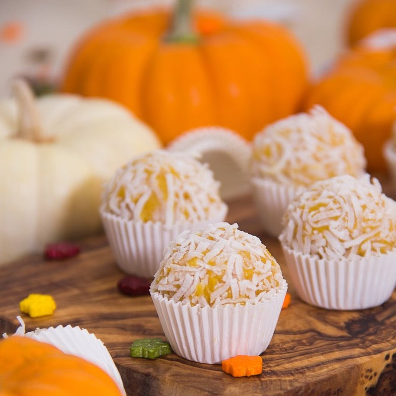FLAVOR OF THE MONTH - Pumpkin Coconut Brigadeiro