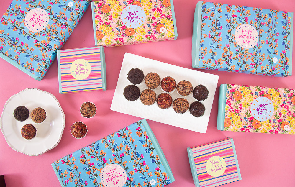 Classic Brigadeiros in a Mothers Day gifts