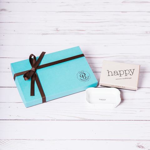 """Happy"" Tray + Medium Box (15 Brigadeiros)"