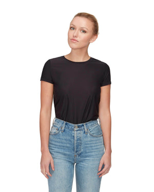 Cropped Boxy Crew Neck