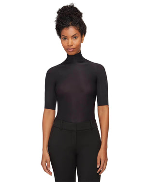Elbow Sleeve Turtleneck