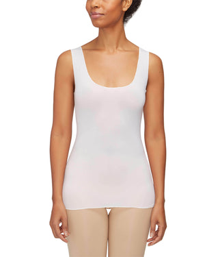Reversible Scoop Tank (White)