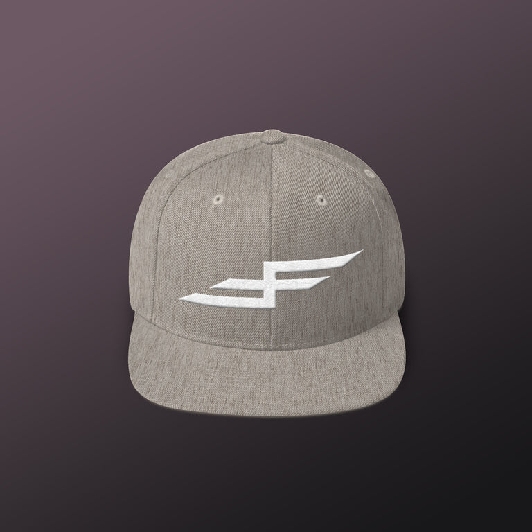 Faster Farther Bolt Snapback Hats